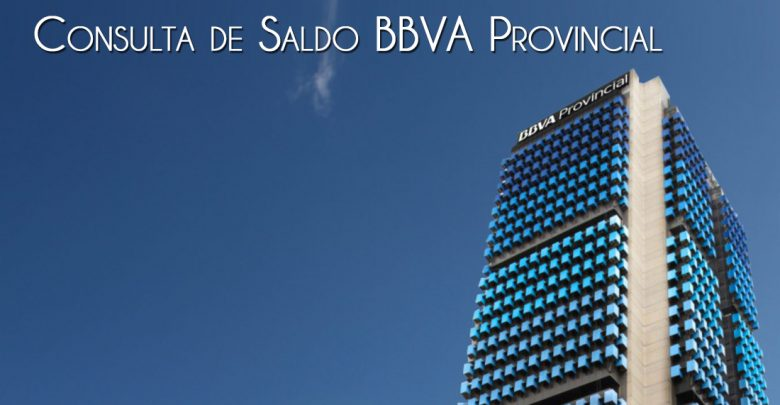 Banco Provincial consulta de saldo